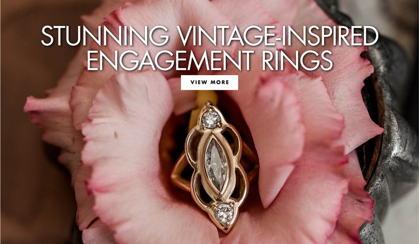stunning vintage inspired engagement rings wedding engagement ideas