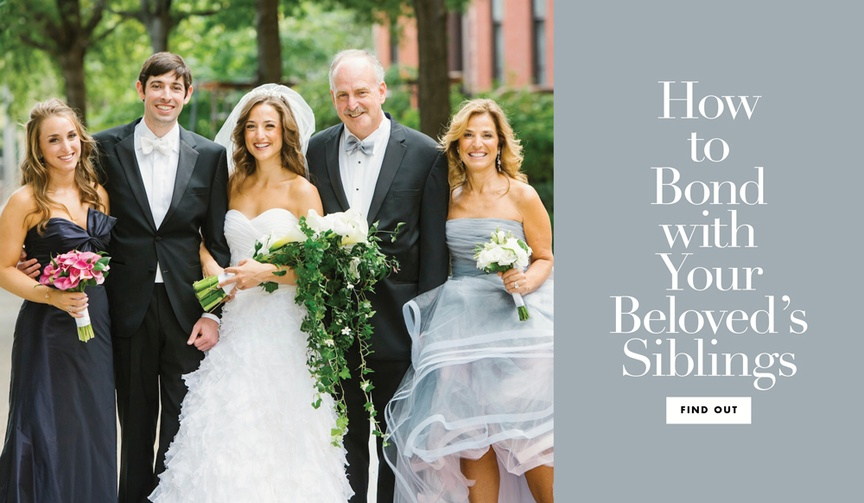 how to bond with your future sibling-in-law