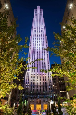 30 Rockefeller Plaza 30 Rock Rainbow Room NBC Studios wedding venue ideas New York City