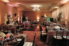 Montage Laguna Beach indoor guest tables