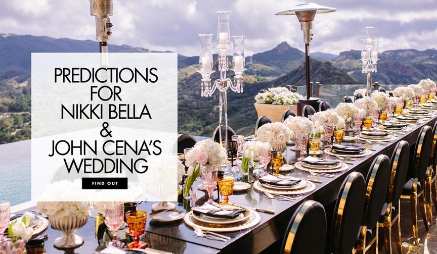 nikki bella stephanie nicole garcia-colace john cena wwe wrestlers engaged predictions wedding ring
