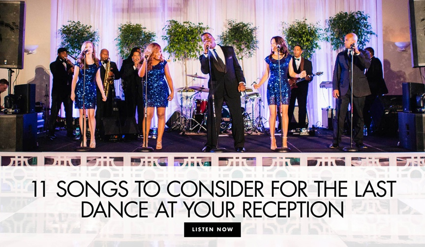 11 songs to consider for the last dance at your wedding reception