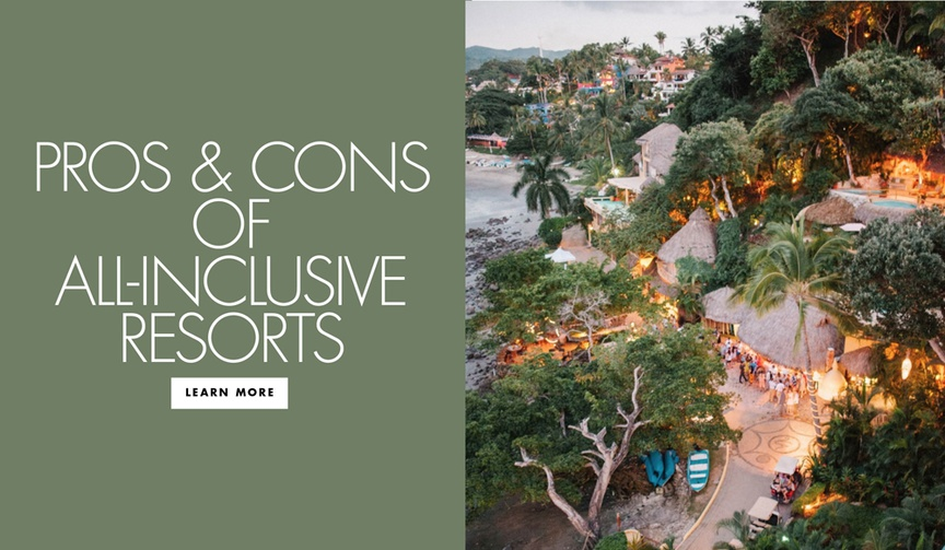 Pros and cons of all inclusive resorts for your honeymoon vacation