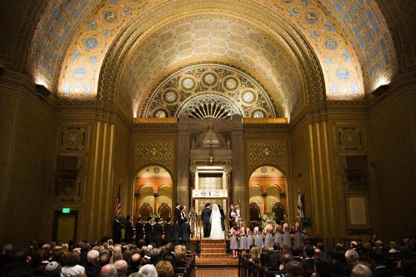 Wedding at Congregation Rodeph Shalom