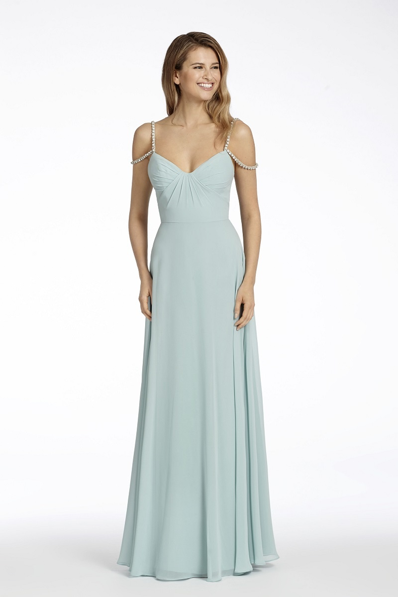 cc2292c0d0e Hayley Paige Occasions Bridesmaids Gown - Inside Weddings