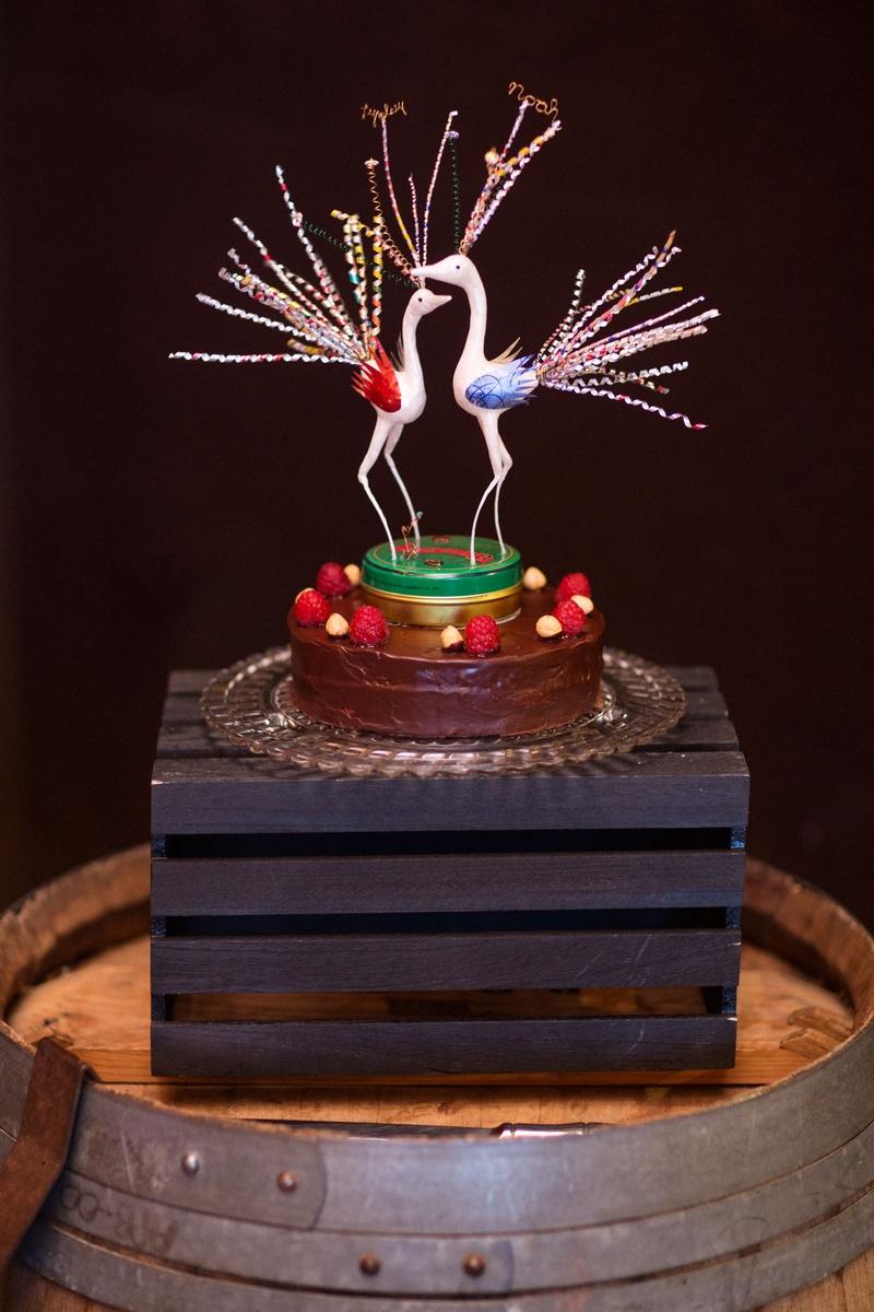 Cakes & Desserts Photos - Unique Small Wedding Cake & Topper ...