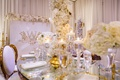 wedding reception legacy castle tahir whitehead white gold mirror decor s shape table