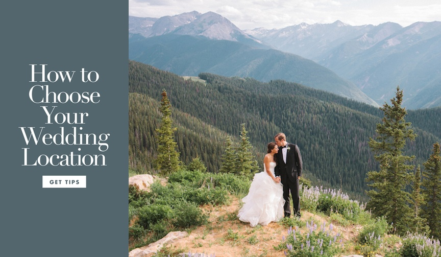 How to choose your wedding location stay at home or destination wedding