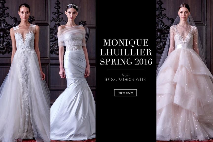 monique lhuillier spring 2016 dresses
