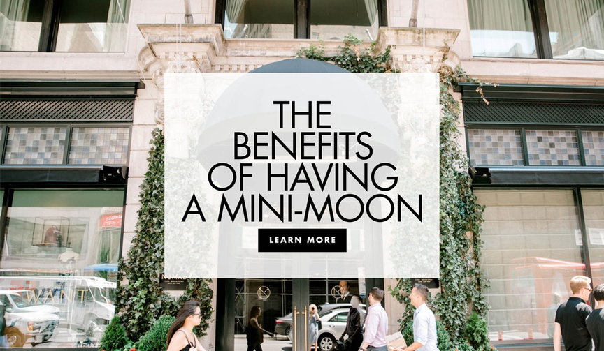 the benefits of having a mini moon getaway honeymoon