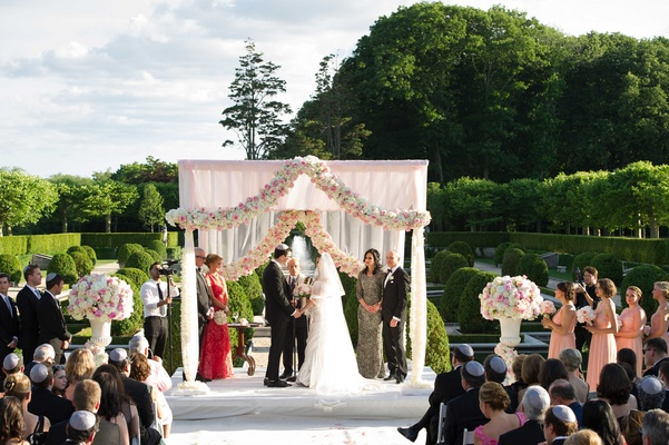Regal Outdoor Ceremony & Ballroom Reception At Oheka