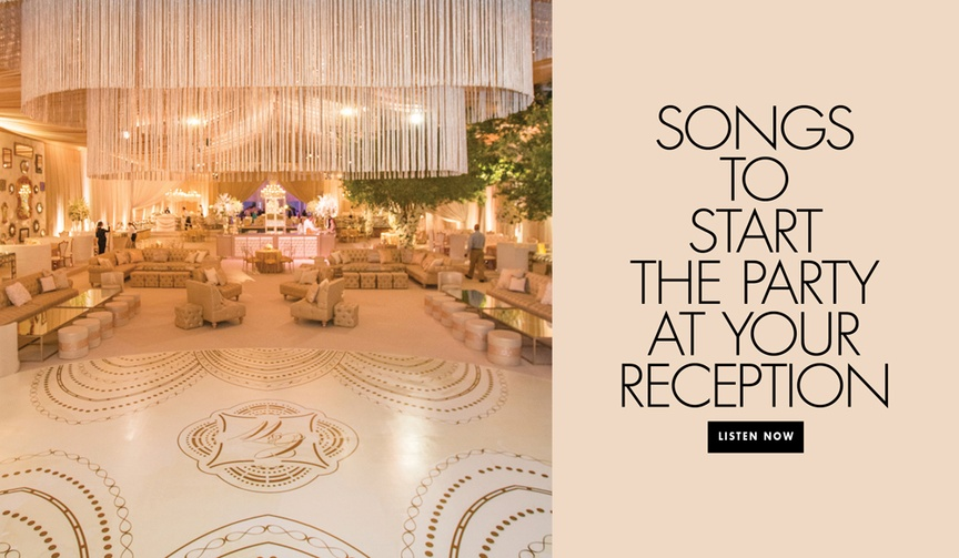 songs to start the wedding receptions, songs for opening the dance floor