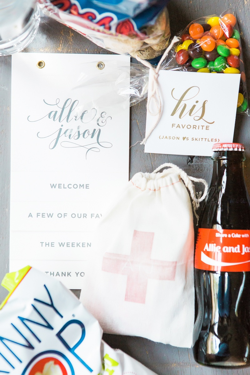 Favors & Gifts Photos - Personalized Part Favors - Inside Weddings