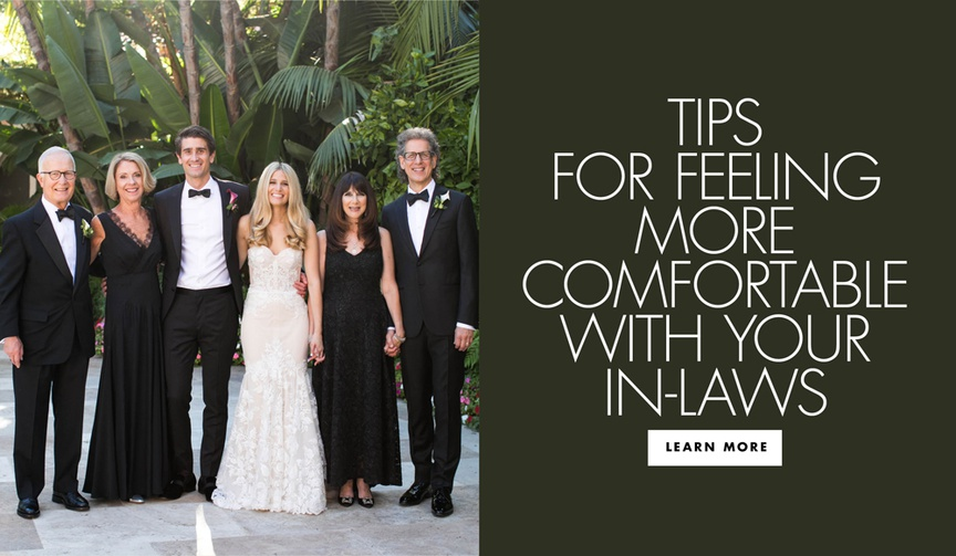 tips for feeling more comfortable with your in-laws