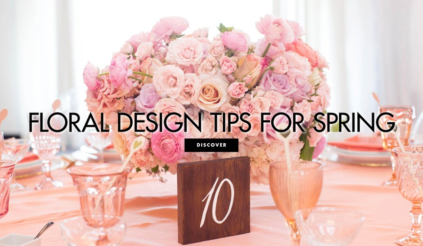 Floral design tips for spring wedding flowers workshop Eddie Zaratsian Lifestyle and Design
