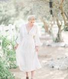 bride boho chic wedding dress ranch setting southern california winter styled shoot free people