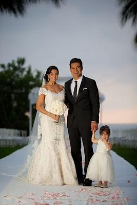 Courtney Mazza and daughter Gia in Ines Di Santo