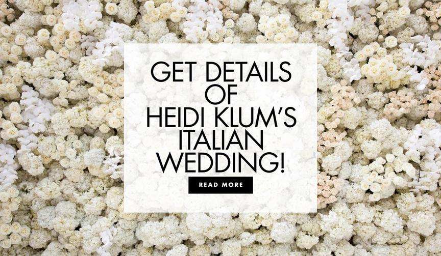 get details of heidi klum and tom kaulitz yacht wedding off the coast of capri italy