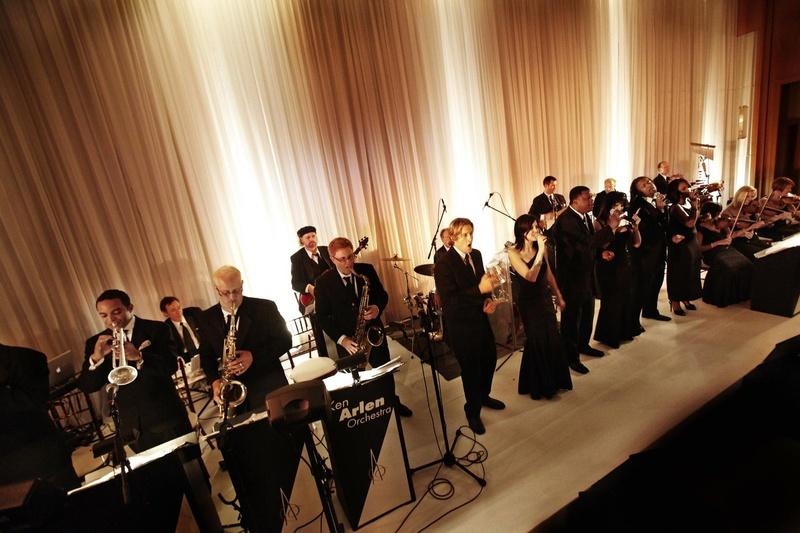 Entertainment Photos Live Band Orchestra Inside Weddings