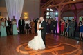 Indian bride dancing with Irish groom to song from Once soundtrack