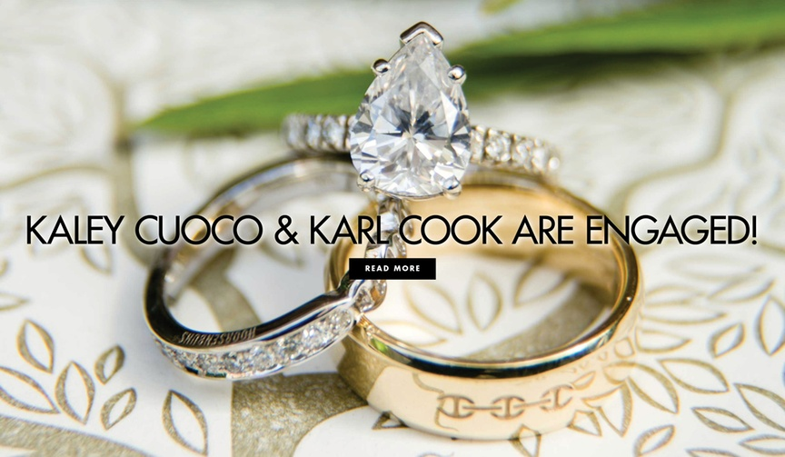 Kaley Cuoco and Karl Cook are engaged! See her ring