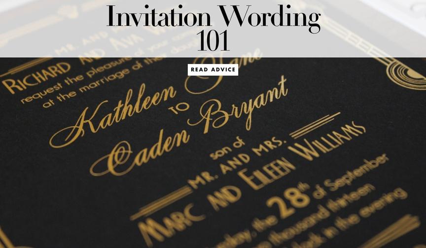 Heidi Jimenez of Zenadia Design shares wedding invitation wording 101 tips