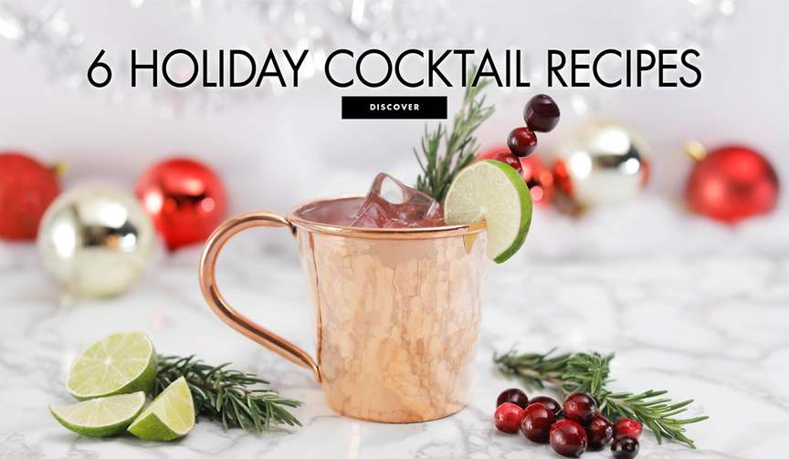 Spice up your party with these seasonal drinks!