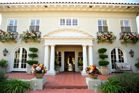 Curb appeal of the wedding venue