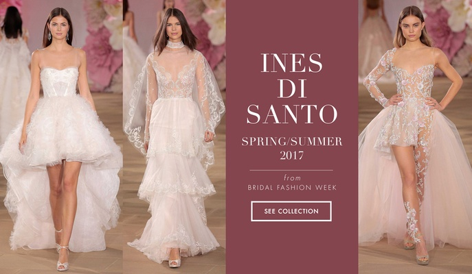 Ines Di Santo Spring Summer 2017 wedding dress bridal collection