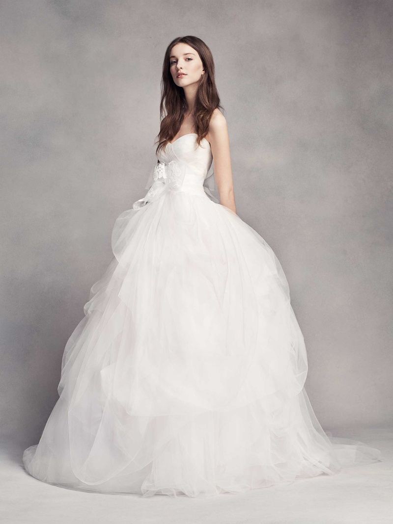 Wedding dresses photos style vw351339 by white by vera for Vera wang classic wedding dress