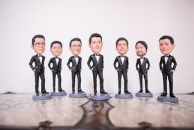 groomsmen gift ideas, groom and groomsmen bobbleheads