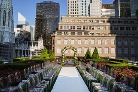 620 Loft and Garden outdoor wedding space