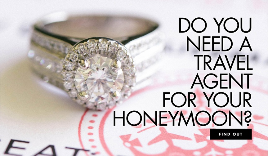 do you need a travel agent for your honeymoon