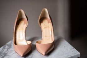 christian louboutin nude patent leather iriza pumps 100mm stilettos wedding bridal shoes