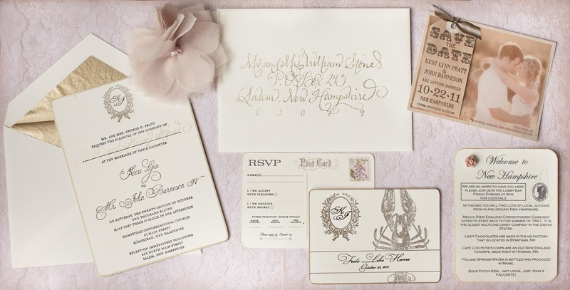 Wedding invite feels like home theme Keri Lynn Pratt