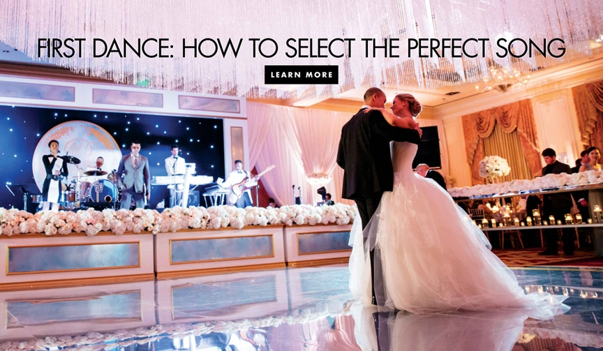 How to select the perfect song for your first dance