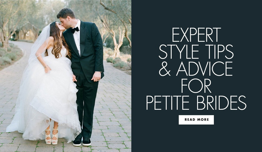 expert style tips and advice for petite brides from maradee wahl of dear maradee