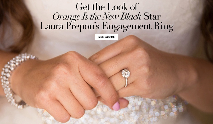 See the star's gorgeous engagement ring and be inspired by similar styles!