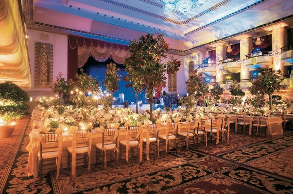 English garden inspired fall wedding in new york city inside waldorf astoria nyc ballroom dcor junglespirit Choice Image