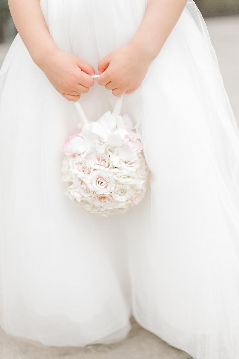 Flower Girls Ring Bearers Photos Flower Girls White Pomander