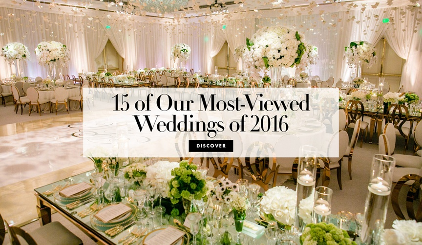15 of the most-red weddings inside weddings magazine website 2016 inspiration decor grand details
