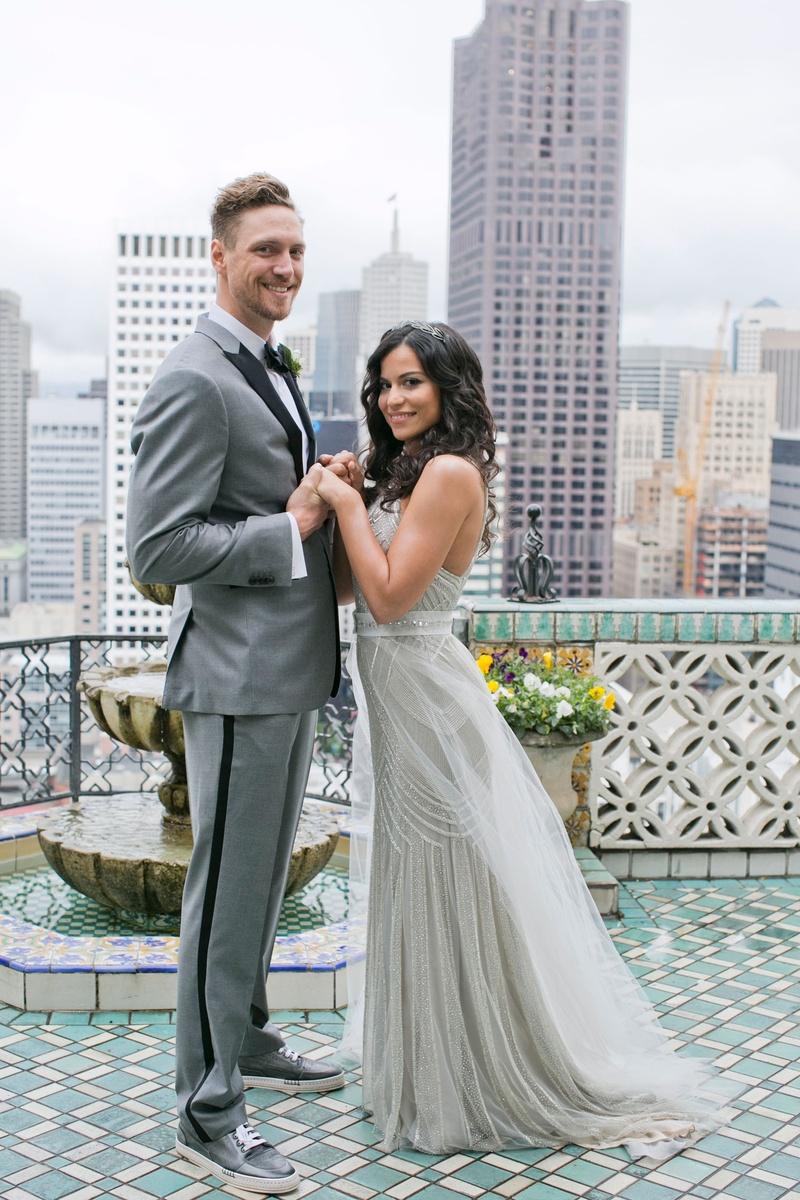 couples photos alexis cozombolidis hunter pence inside weddings