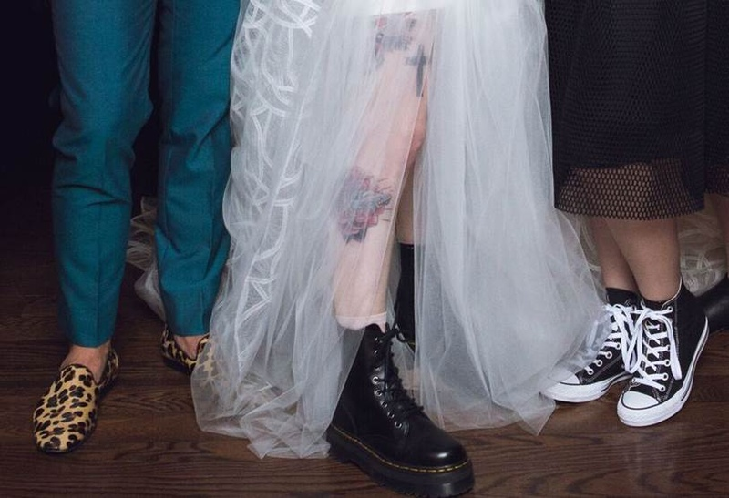 Shoes Bags Photos Tattoos And Doc Martens Inside Weddings