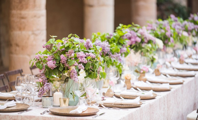 Intimate Destination Wedding at 8th Century Abbey in Umbria, Italy