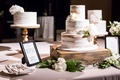 Wedding reception cakes one tier one semi naked three tier and one square tier two layer