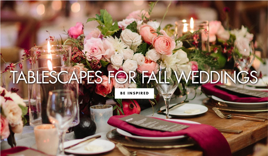tablescapes for fall weddings fall wedding ideas decorations reception