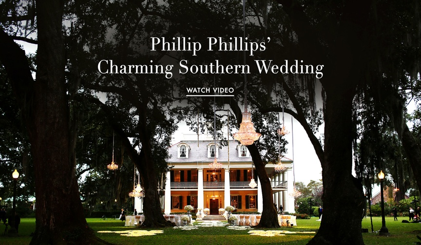 American Idol singer Phillip Phillips' Southern wedding video