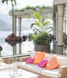 St. Regis Princeville Resort relaxation terrace