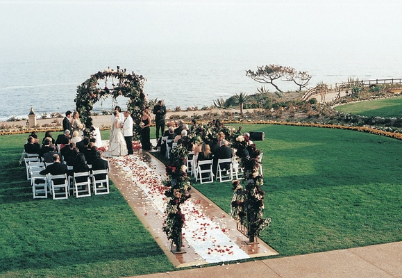 Lawn ceremony at Montage Laguna Beach
