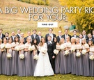 is a big wedding party right for you see the pros and cons
